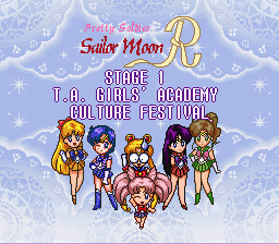 Bishoujo Senshi Sailor Moon R - Level  - wtf - User Screenshot